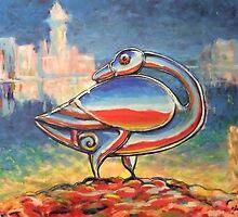 Pictish Goose by Matthew Scotland