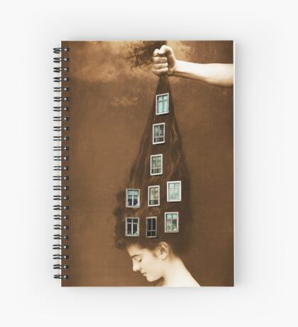 Les promesses d'une chevelure - Head of Hair Promises Spiral Notebook