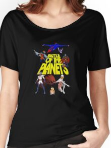 Battle of the Planets Women's Relaxed Fit T-Shirt