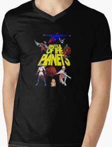 Battle of the Planets Mens V-Neck T-Shirt