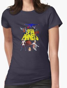 Battle of the Planets Womens Fitted T-Shirt