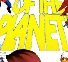 Battle of the Planets Sticker
