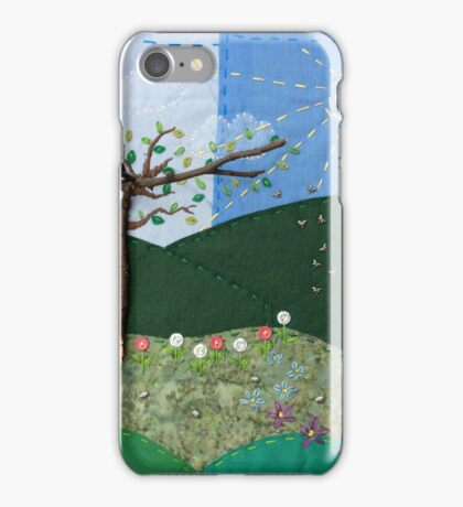 Sunny hills iPhone Case/Skin