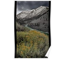 Along the Fraser Canyon Poster