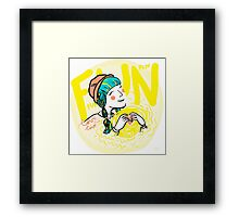 fun-love-sun Framed Print