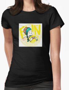 fun-love-sun Womens Fitted T-Shirt