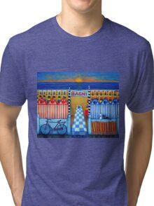 An Italian Summer's End Tri-blend T-Shirt