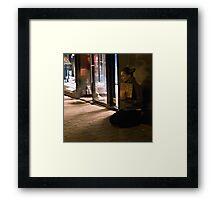 the outsider Framed Print