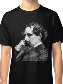 Charles Dickens portrait Classic T-Shirt