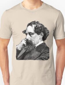 Charles Dickens portrait T-Shirt