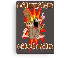 Captain Caveman Canvas Print