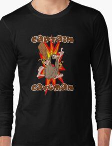 Captain Caveman Long Sleeve T-Shirt