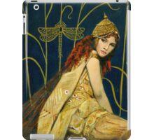 Decorative Vintage Nymph iPad Case/Skin