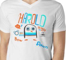 Harold The Swag King Mens V-Neck T-Shirt