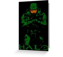 Halo Master Chief Greeting Card