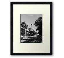 Seville - Torre del Oro  Framed Print