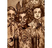 Between a Mulatto and a Quadroon Photographic Print