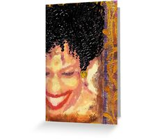 The Artist Who Found her SMILE Greeting Card