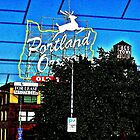 Portland, Oregon sign by HapaCanuck
