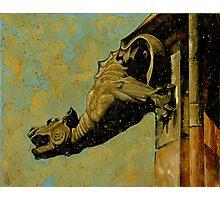 Gargoyle #1 Photographic Print