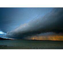 Tin Can Bay Storm Photographic Print