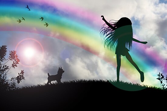 Windy McGee At The End Of The Rainbow. by Rookwood Studio ©