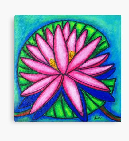Pink Gem 2 Canvas Print