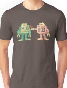 Robots in Love Unisex T-Shirt