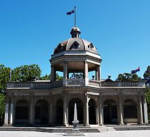 Soldiers Memorial Institute, Bendigo by Justine Armstrong