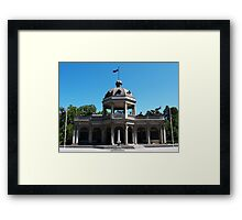 Soldiers Memorial Institute, Bendigo Framed Print