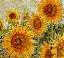 Sunflowers by Richard Bradish Jr