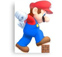 Super Mario Metal Print