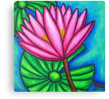 Pink Gem 1 Canvas Print