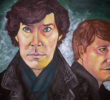 Sherlock and John by Sydney Eller