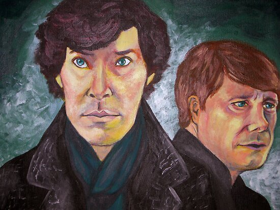 Sherlock and John by Wingspan91089