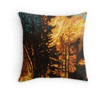 Rebith #3 Throw Pillow