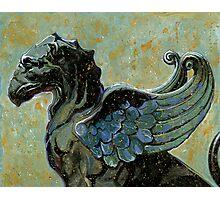 Gargoyle #2 Photographic Print