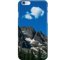 The cloud on the mountains iPhone Case/Skin