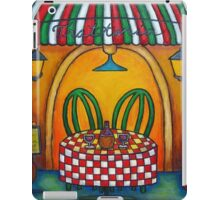 Table for Two in Italy iPad Case/Skin