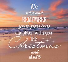 Christmas Tree - Remembering a daughter by CarlyMarie