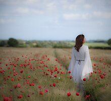 Poppy field by Maria Heyens