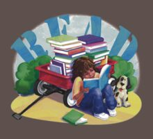 Book Wagon One Piece - Short Sleeve