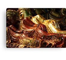 Buddha Sale, Bangkok, Thailand Canvas Print