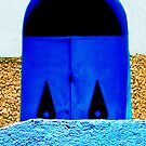 A Wall in Three Parts | The Blue Door by Damienne Bingham