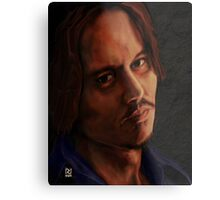 JOHNNY DEPP ! Metal Print