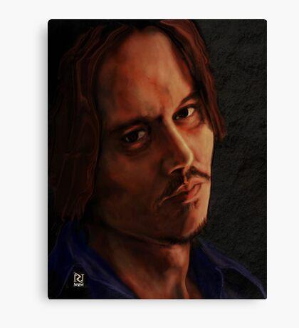 JOHNNY DEPP ! Canvas Print