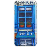 Table for Two in Greece iPhone Case/Skin