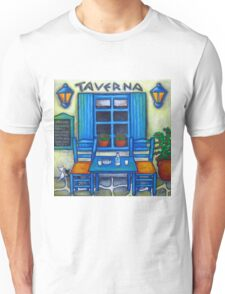 Table for Two in Greece Unisex T-Shirt