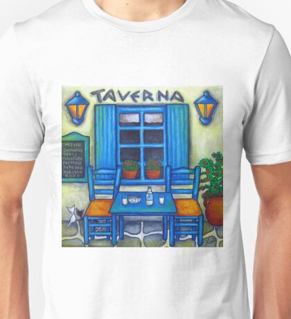 Table for Two in Greece T-Shirt