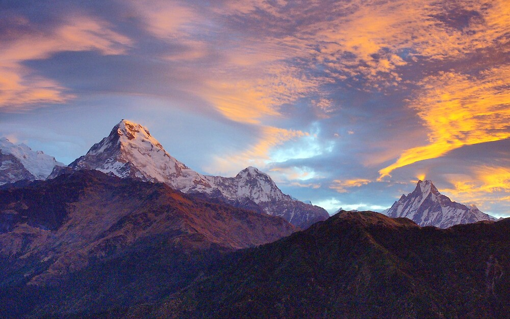 Himalayan Lightshow by Harry Oldmeadow